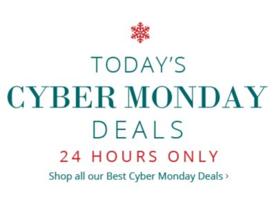 Today's Cyber Monday Deals - 24 Hours Only